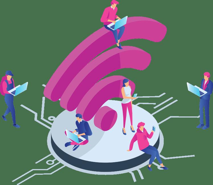 Verejný internet pre mestá a obce | NetSpace
